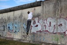 Jumping the Berlin Wall